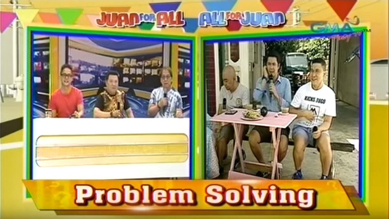 eat bulaga juan for all problem solving